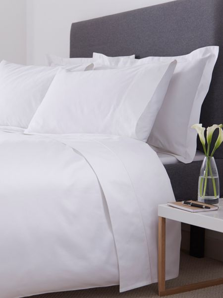 Luxury Hotel Collection 800 thread count king duvet cover set white