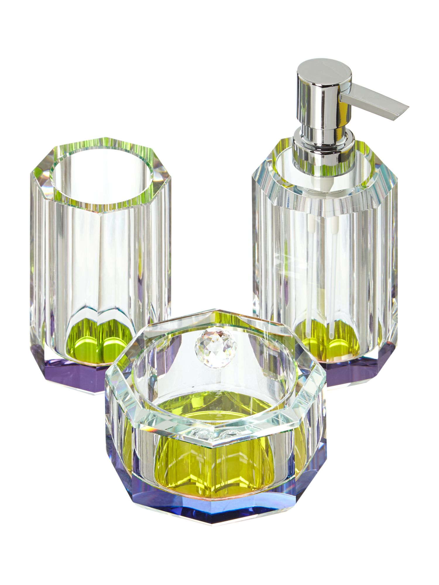 Rainbow prism glass accessories