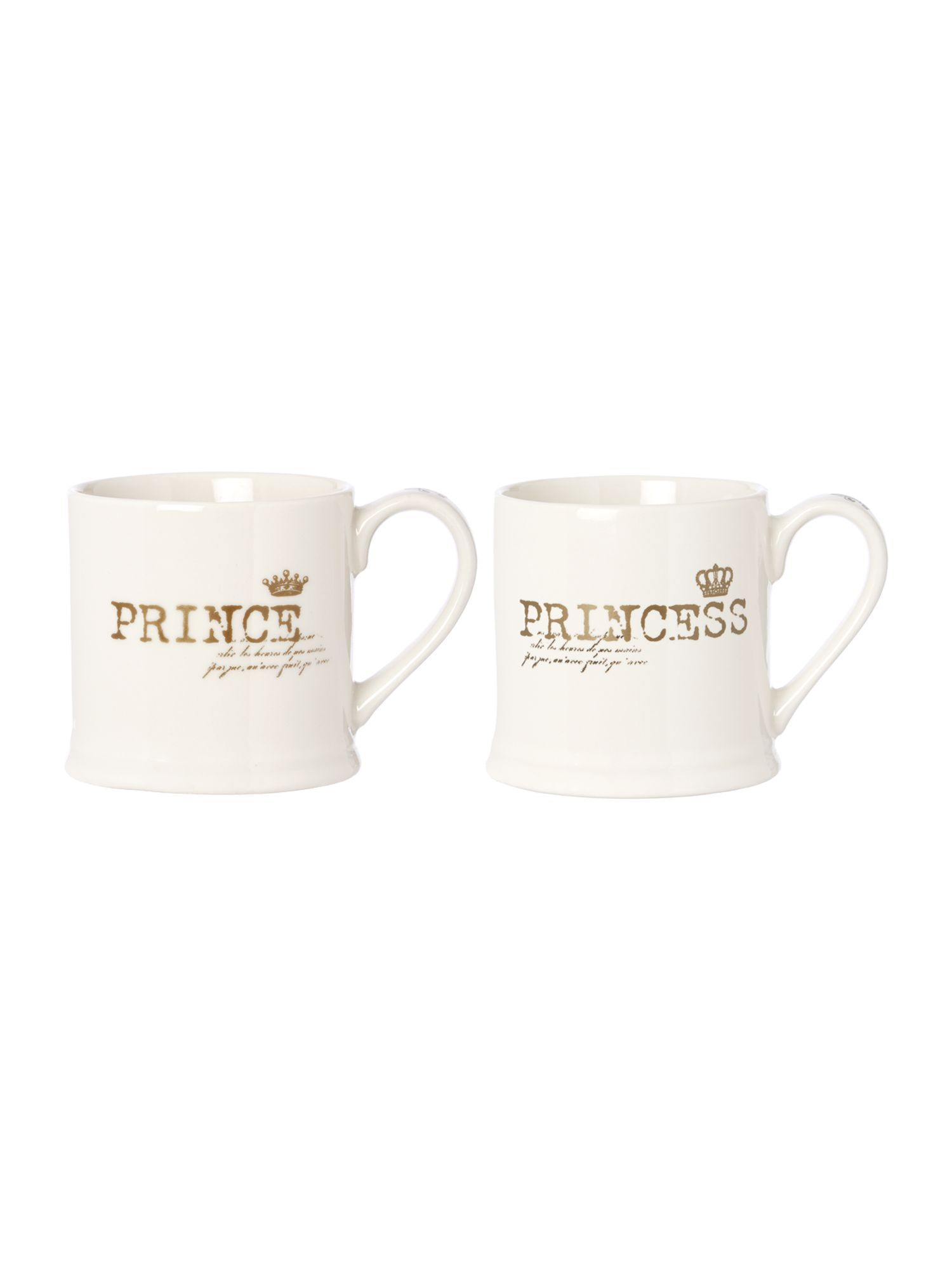 Shabby Chic Prince and Princess Range