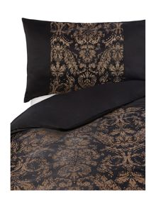 Alondra bed linen in black and gold