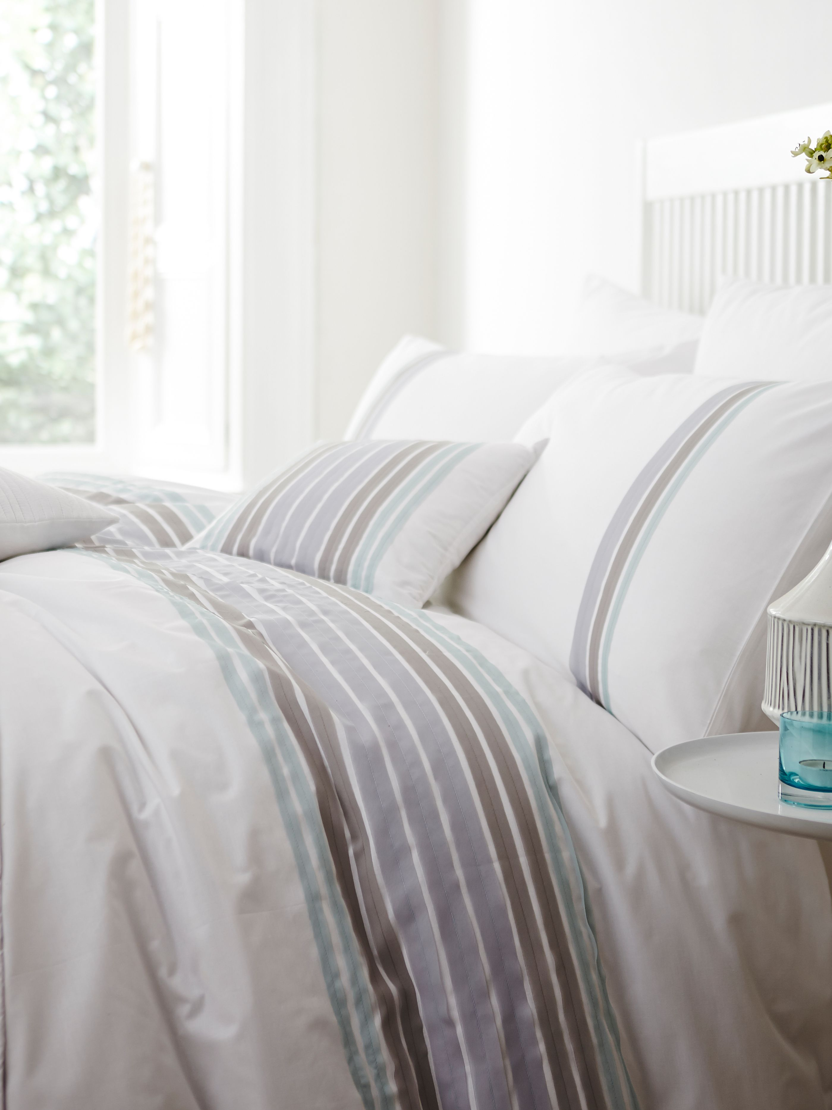 Odette mineral single duvet set