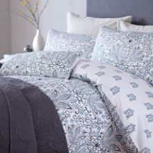 Lucknow paisley super king duvet cover