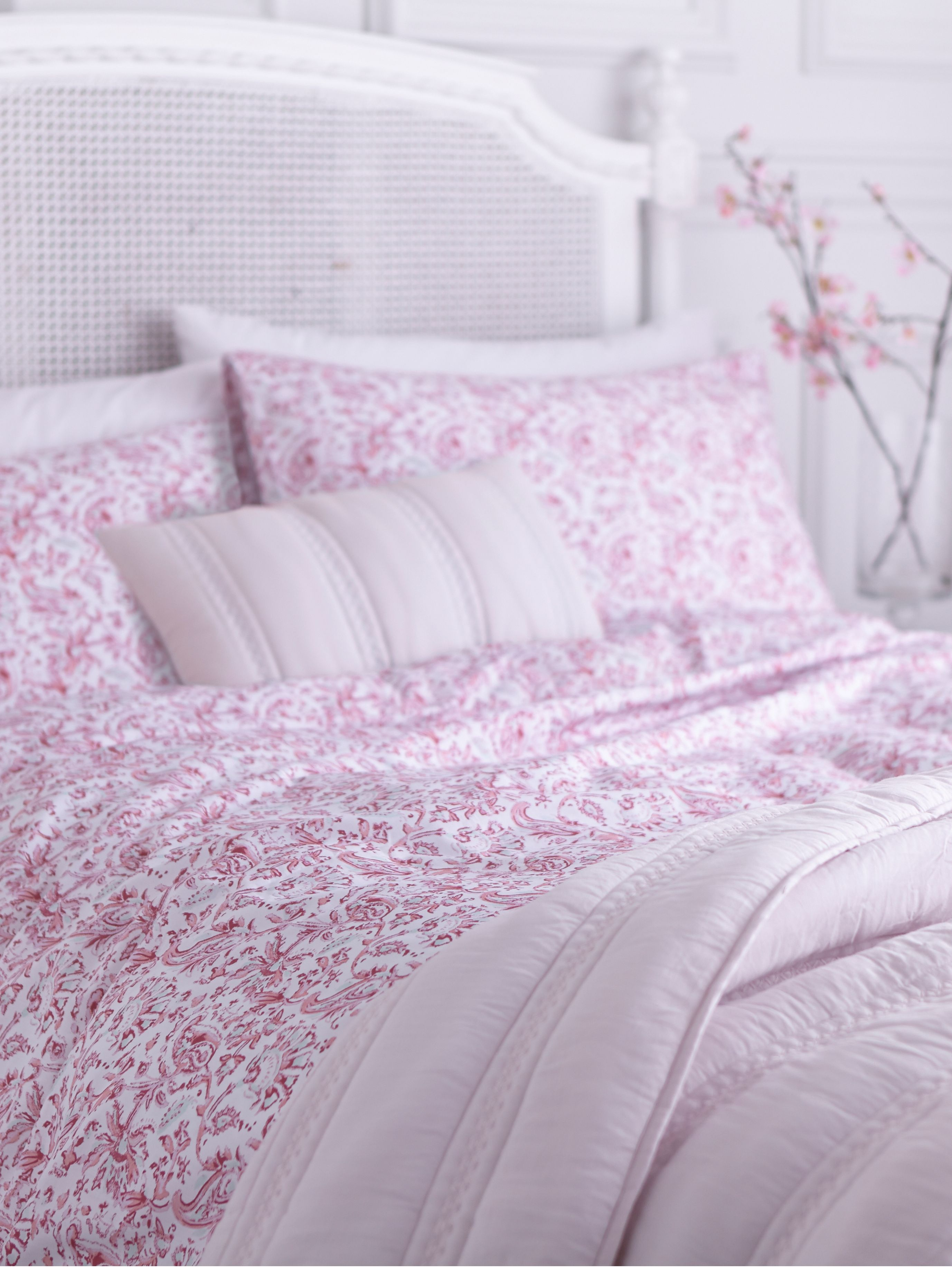 Indes floral king duvet cover