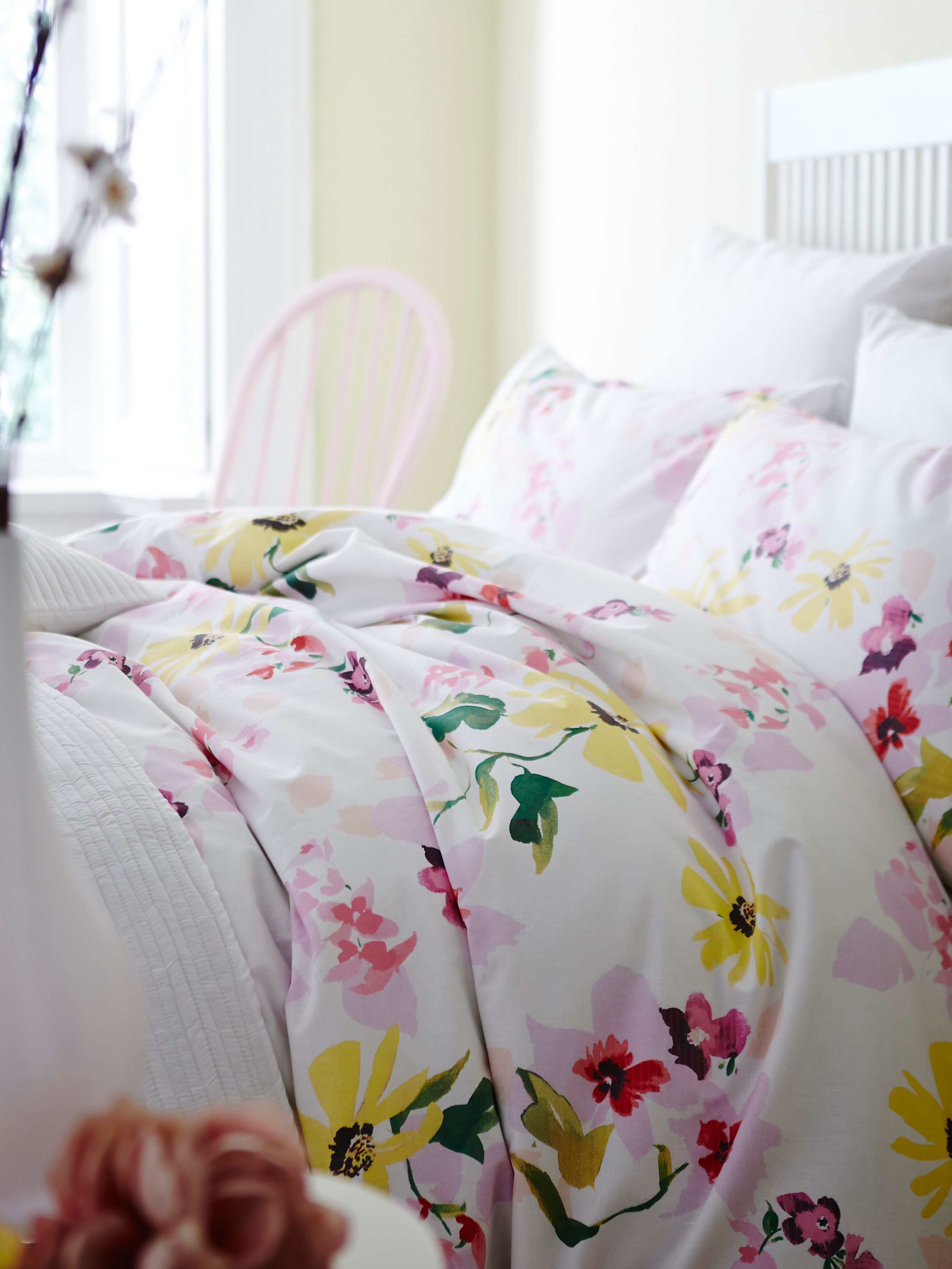 Posy king duvet cover set