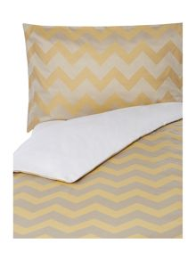 Living by Christiane Lemieux Citrine chevron bed linen