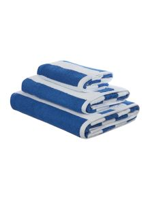 Linea Nautical wide stripe  towel