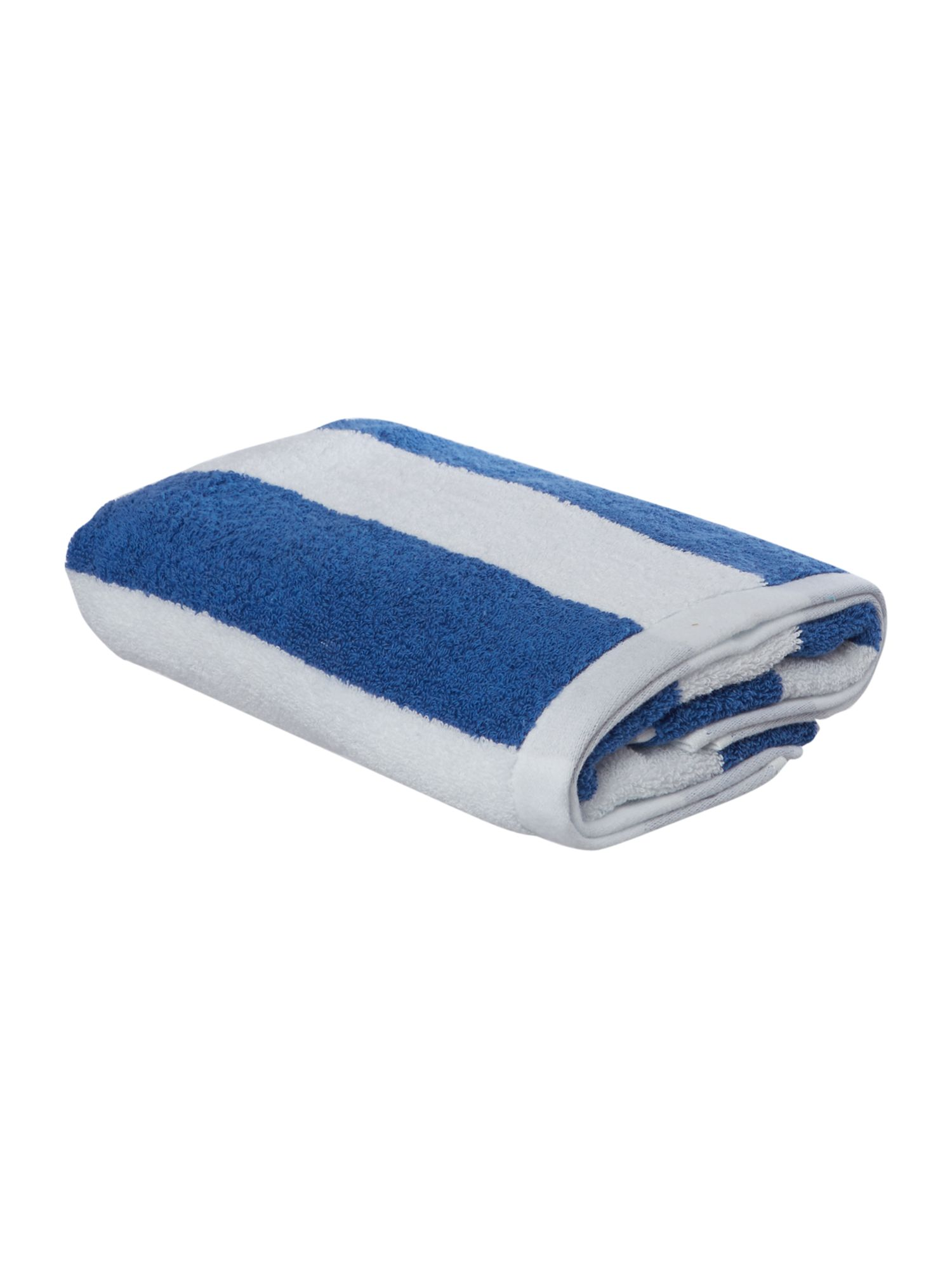 Nautical wide stripe  towel