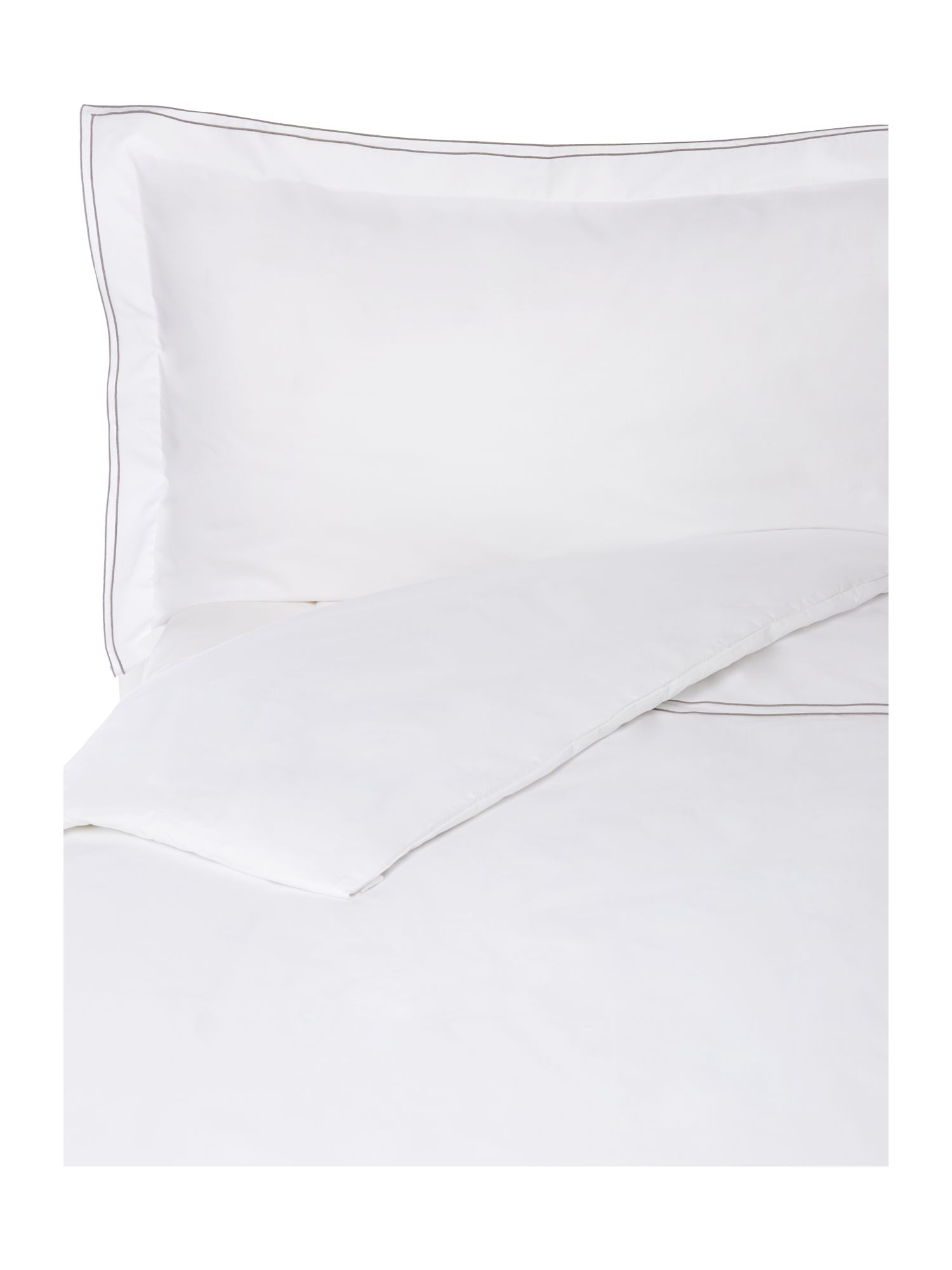 Greenwich white bed linen