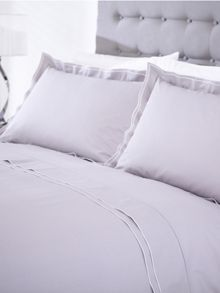 Greenwich grey pillowcase pair