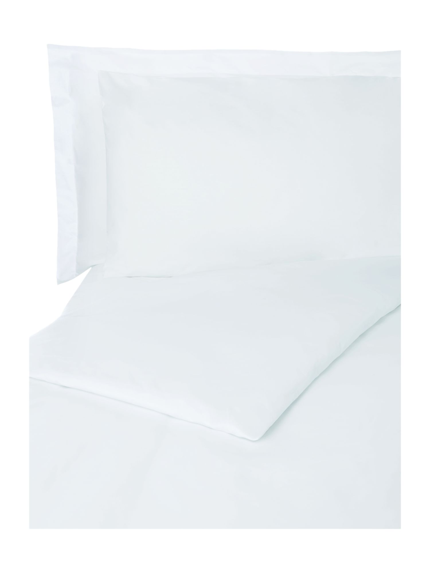Egyptian duck egg 200 thread count k fitted sheet
