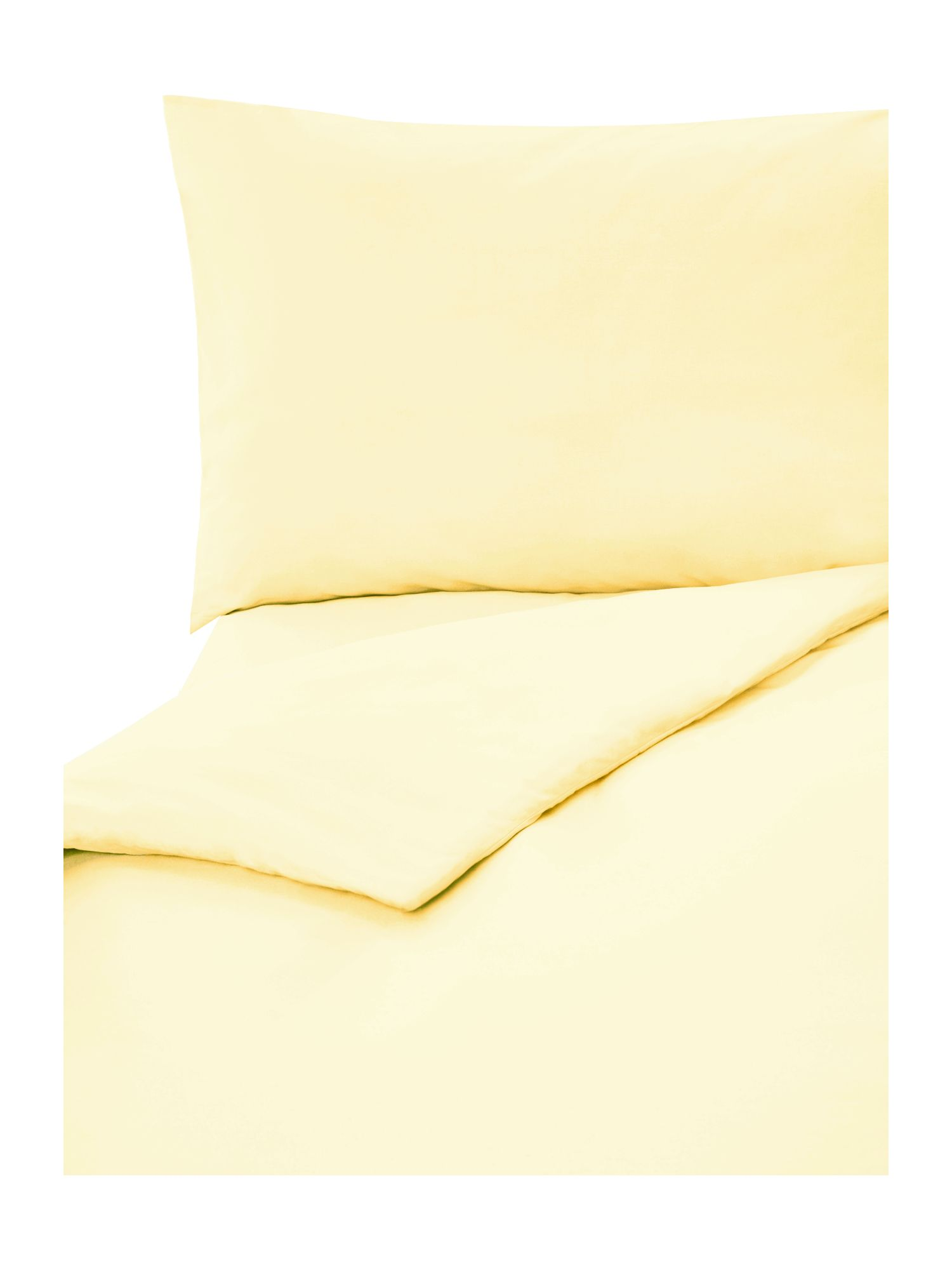 Citrus 100% cotton double fitted sheet