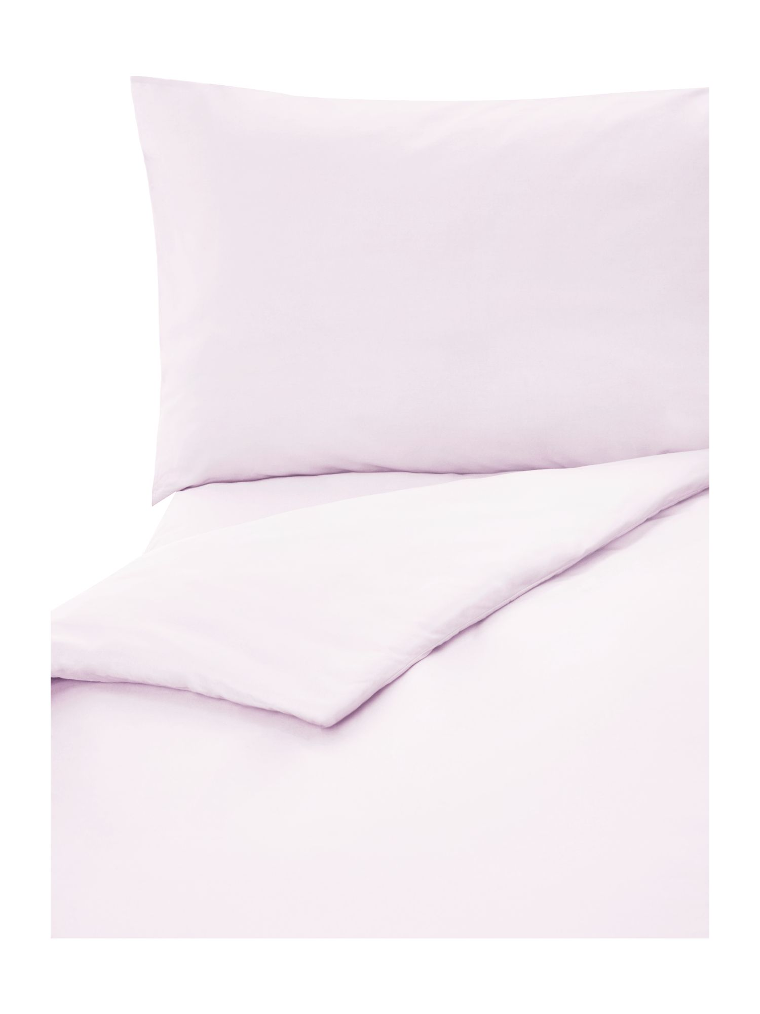 Bubble gum plain dye bed linen