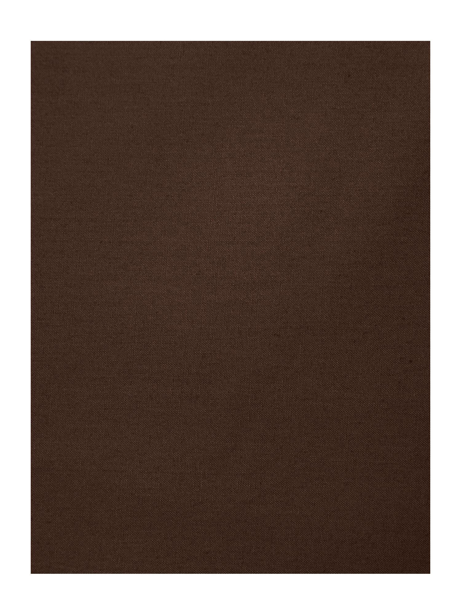 100% cotton plaindye chocolate bed linen