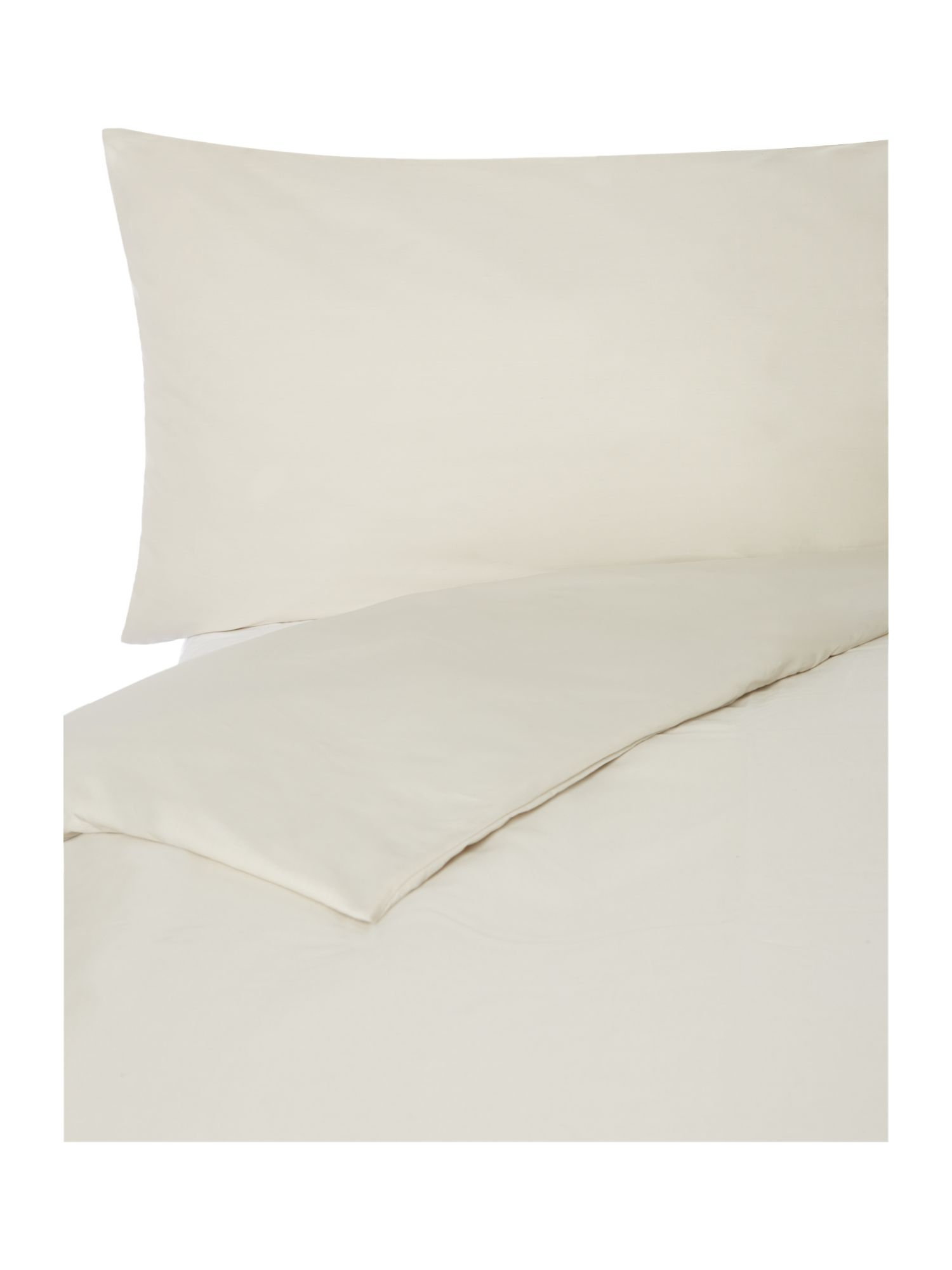100% cotton double duvet cover putty