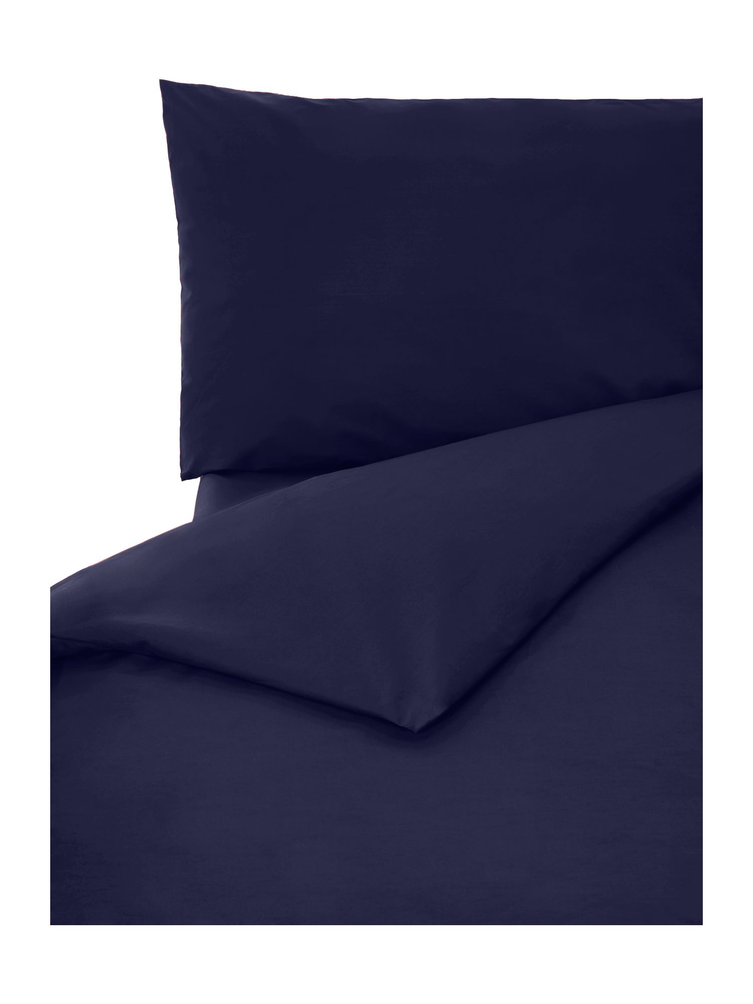 100% cotton king duvet cover french navy