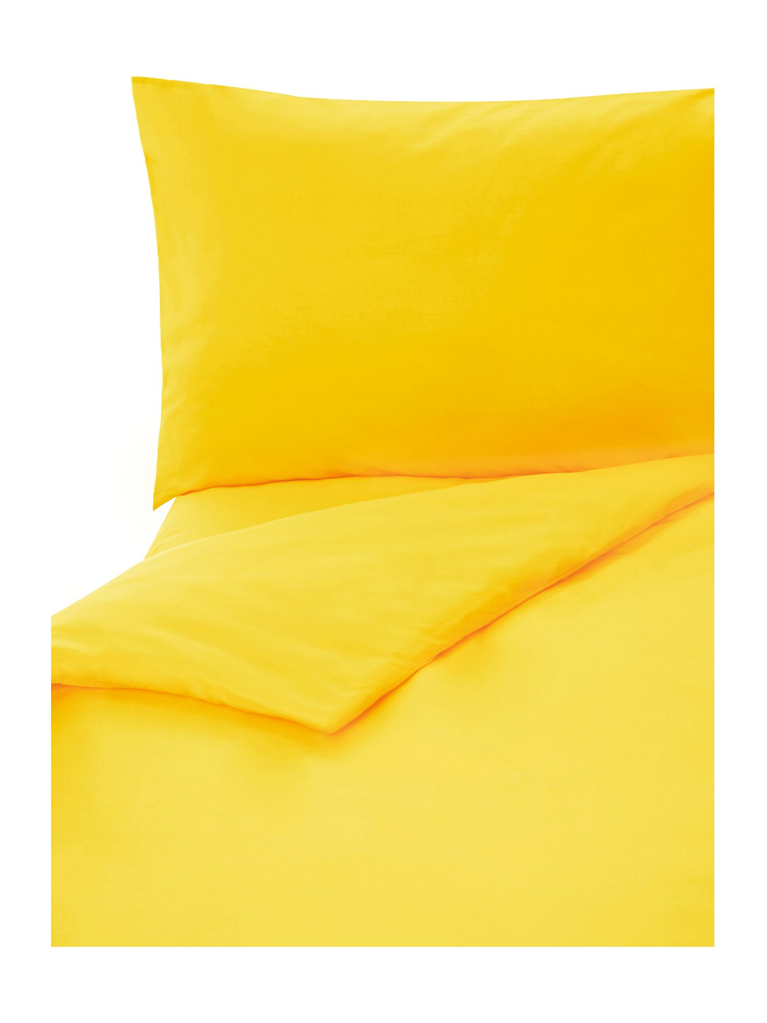 100% cotton sunshine plain dye bed linen