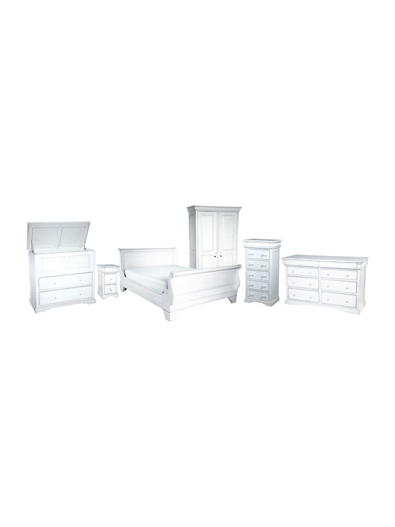 Martine bed furniture range