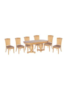 Linea Nora dining Oak furniture range