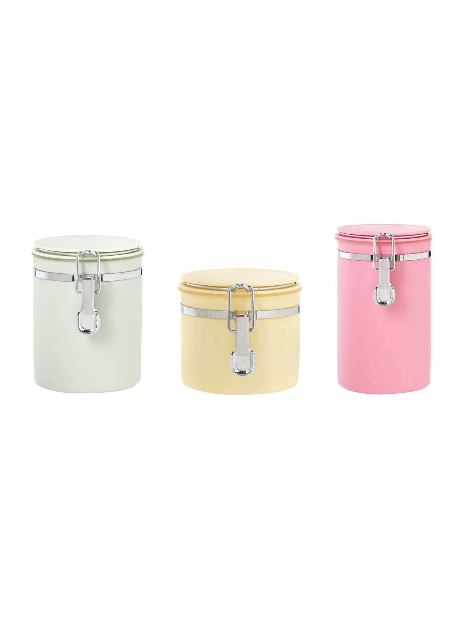 Multi colour canister range