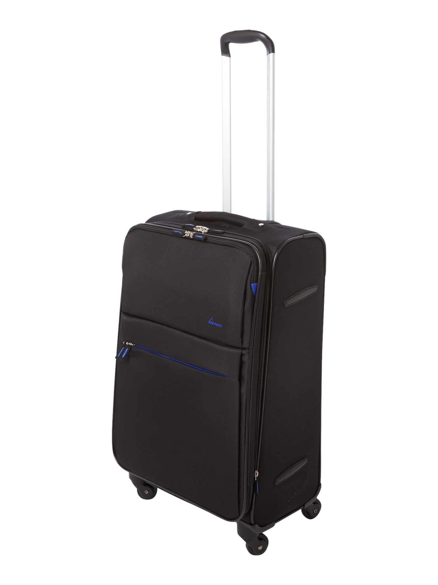 Hyperlite black luggage range