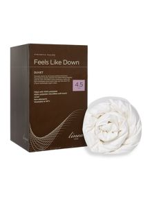 Linea Feels like down breathable 4.5tog duvets