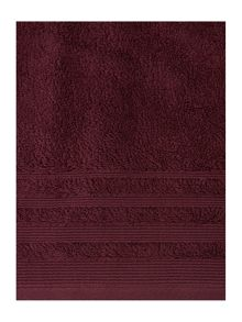 Classic Luxury Towel Range In Bourdeaux