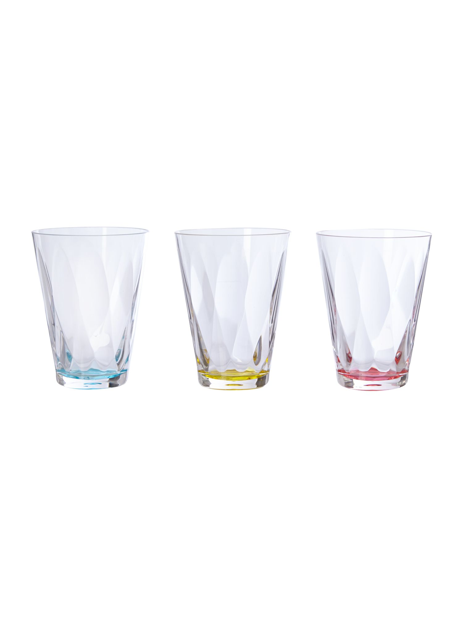 Linea Nea Geo Coloured Glassware