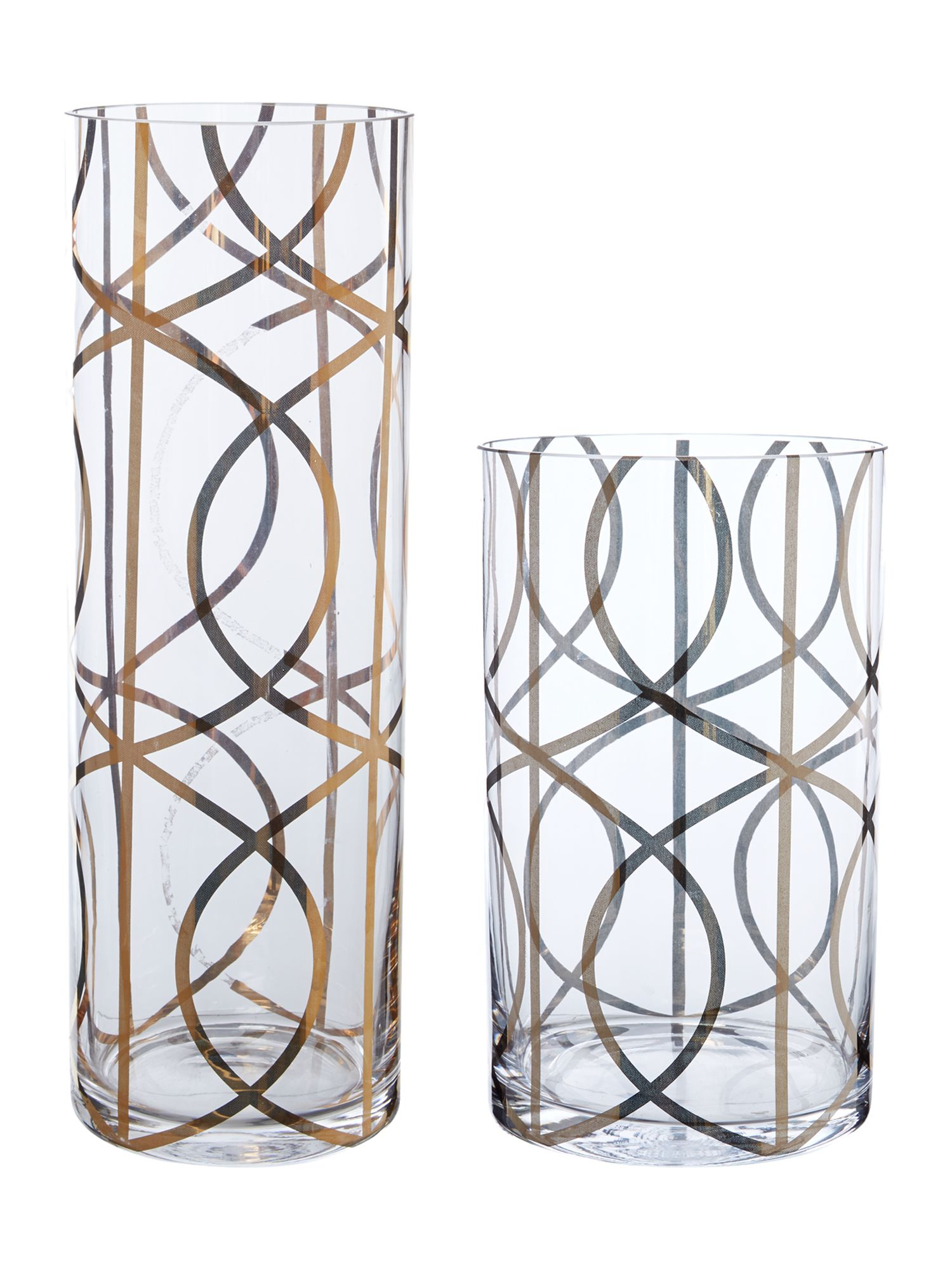 Gate Design Glass Vase Range