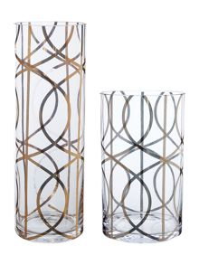 Living by Christiane Lemieux Gate Design Glass Vase Range