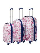 Dickins & Jones Spring floral luggage range