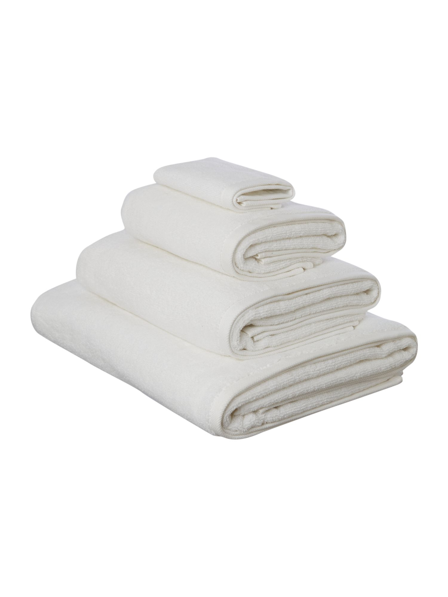 Simply soft white towels