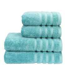Savannah teal towels