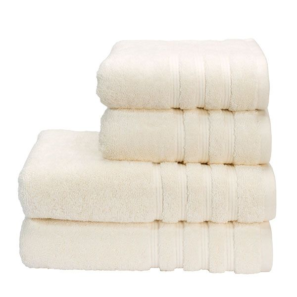 Savannah cream towels
