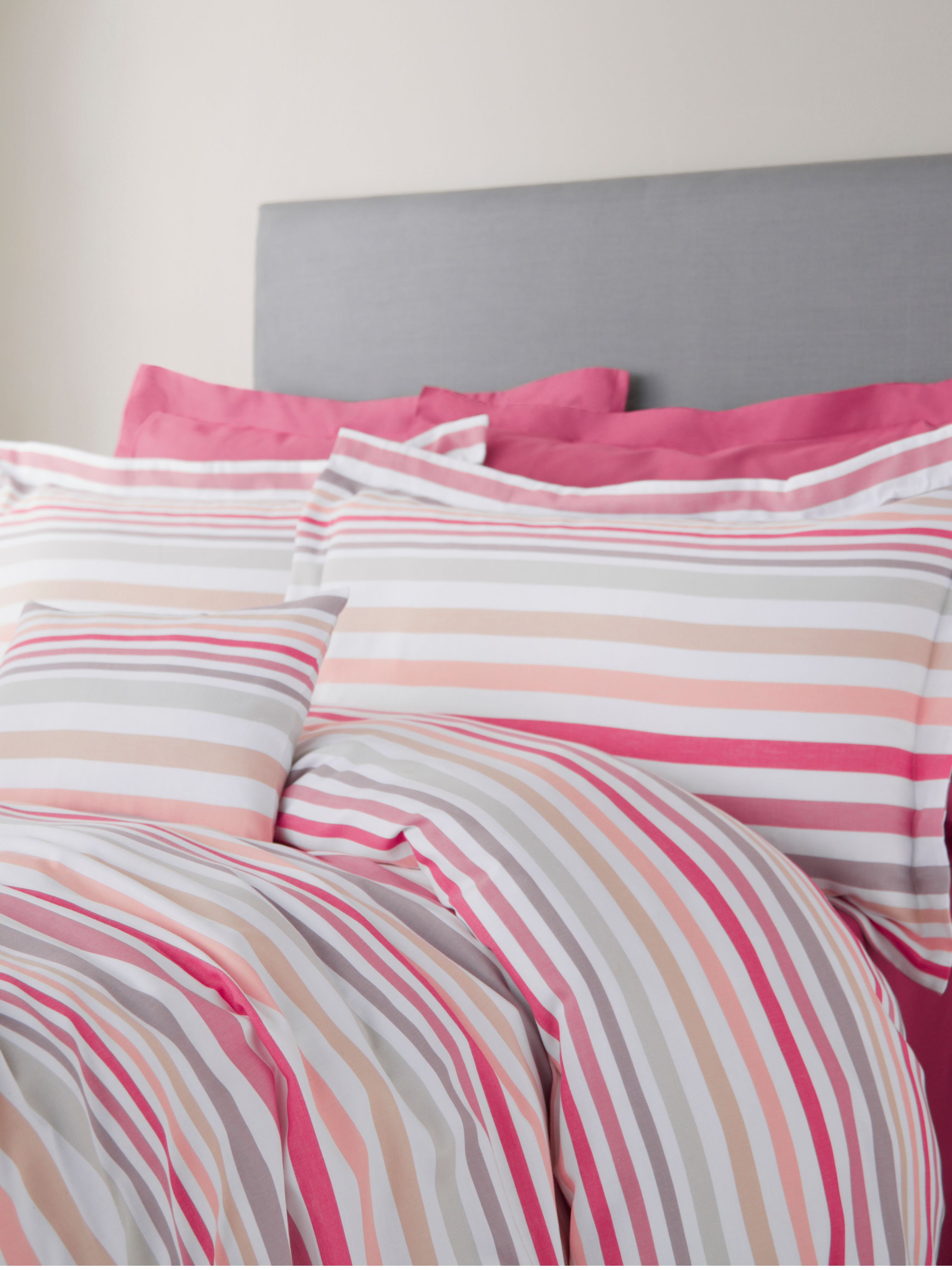 Coco stripe super king duvet cover