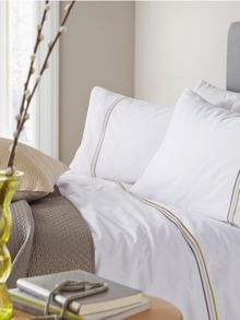 Louise bed linen range in Grey