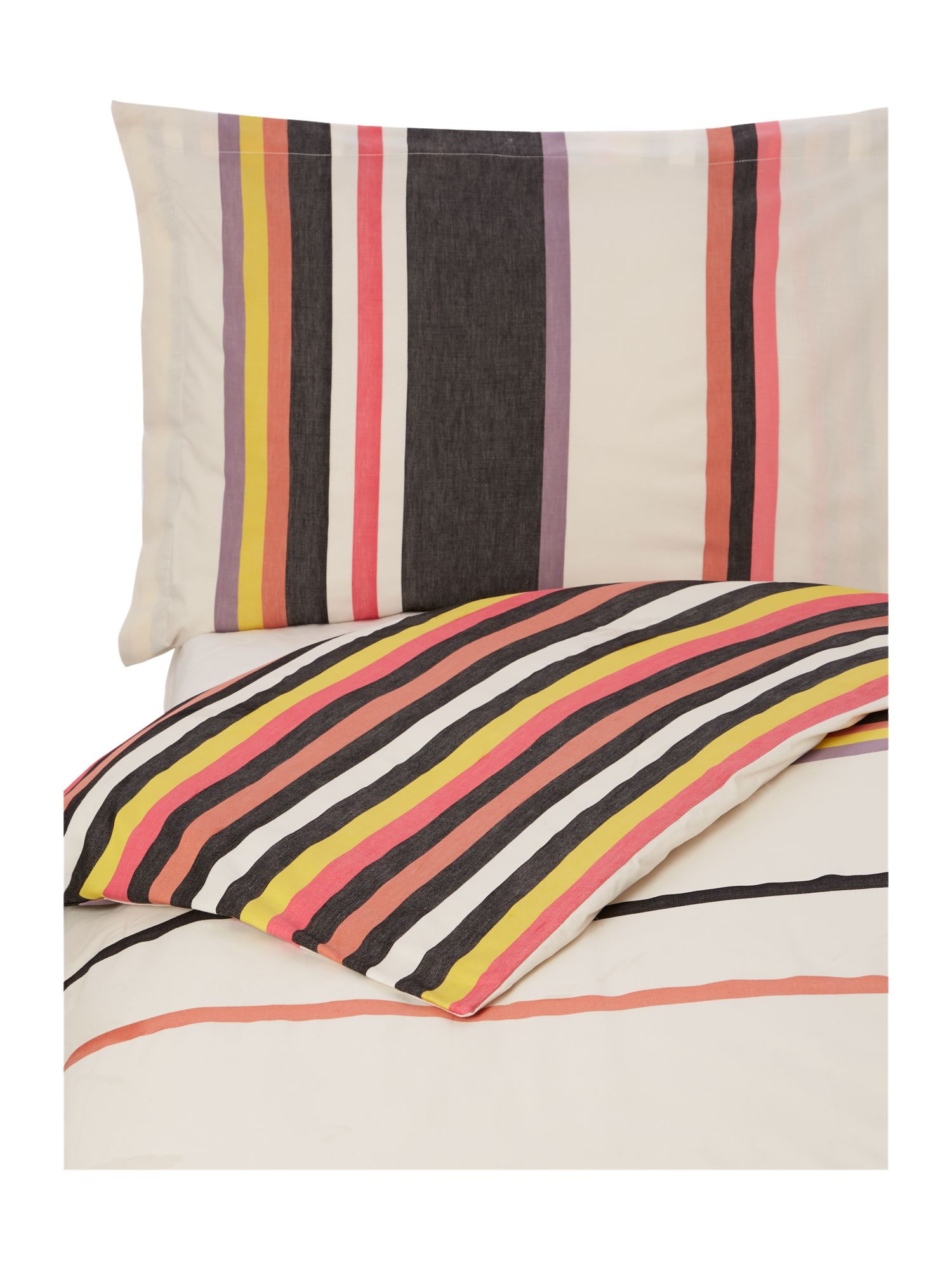 Cherie striped bed linen