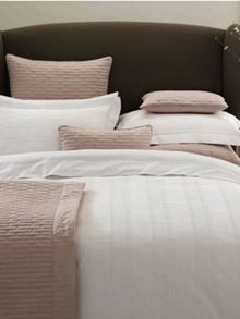 marlow pillow case oxford ivory