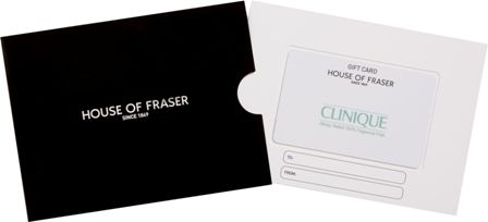 House of Fraser House of Fraser £250 Clinique Gift Card