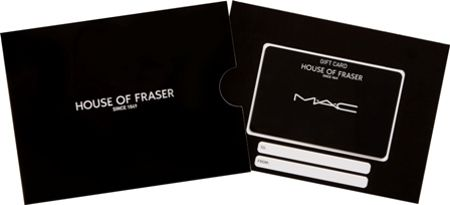 House of Fraser £200 MAC Beauty Gift Card