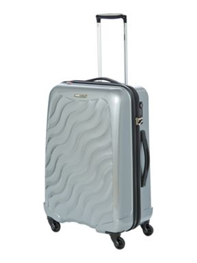 Delsey Axial silver luggage range