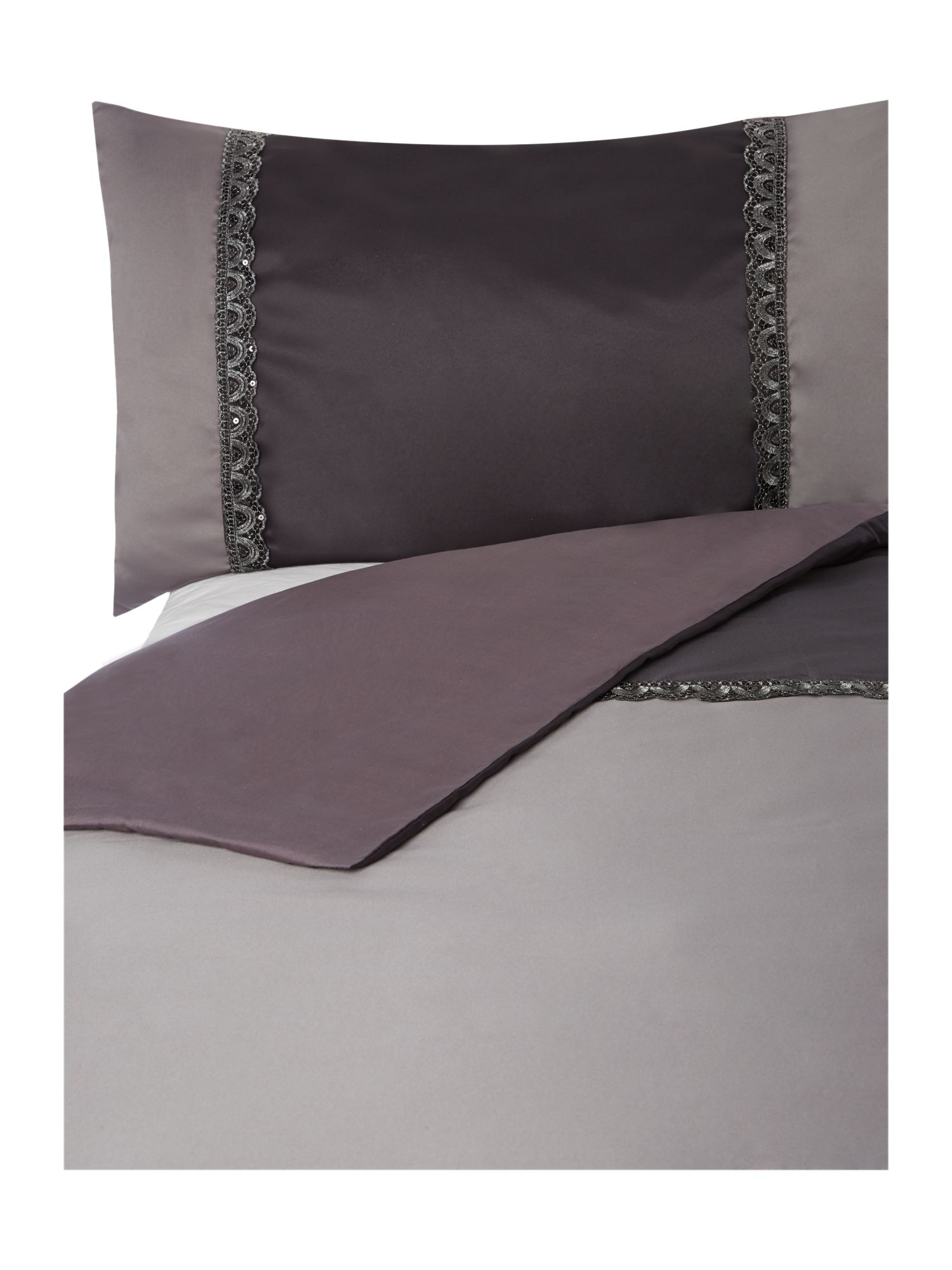 Islas smoke bed linen