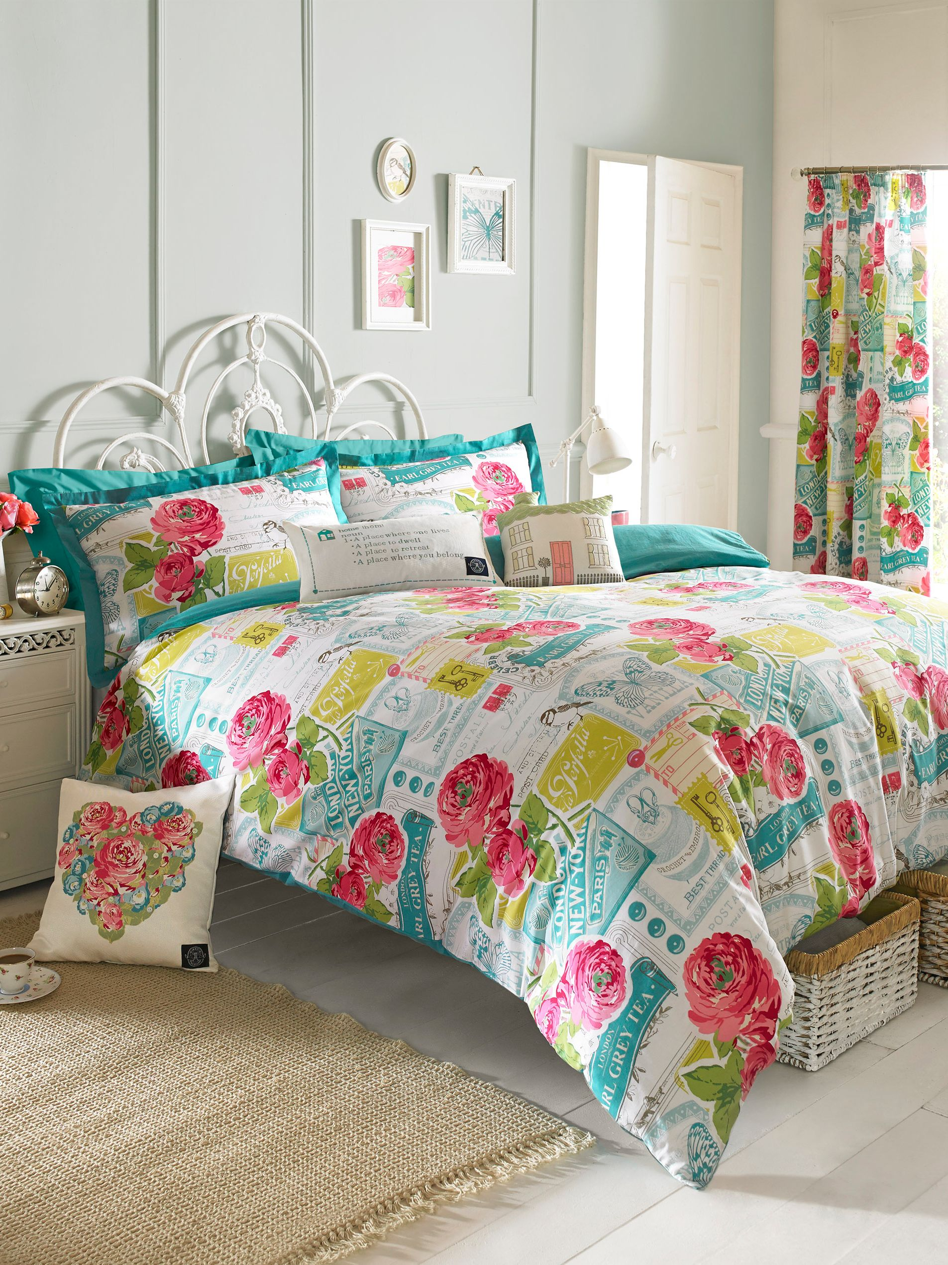 Megan king duvet cover