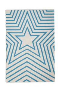 Plantation Rug Co. Freddie 100% Wool Rug Range - Blue