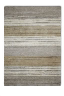 Plantation Rug Co. Simply Natural 100% Wool Rugs - Stripes