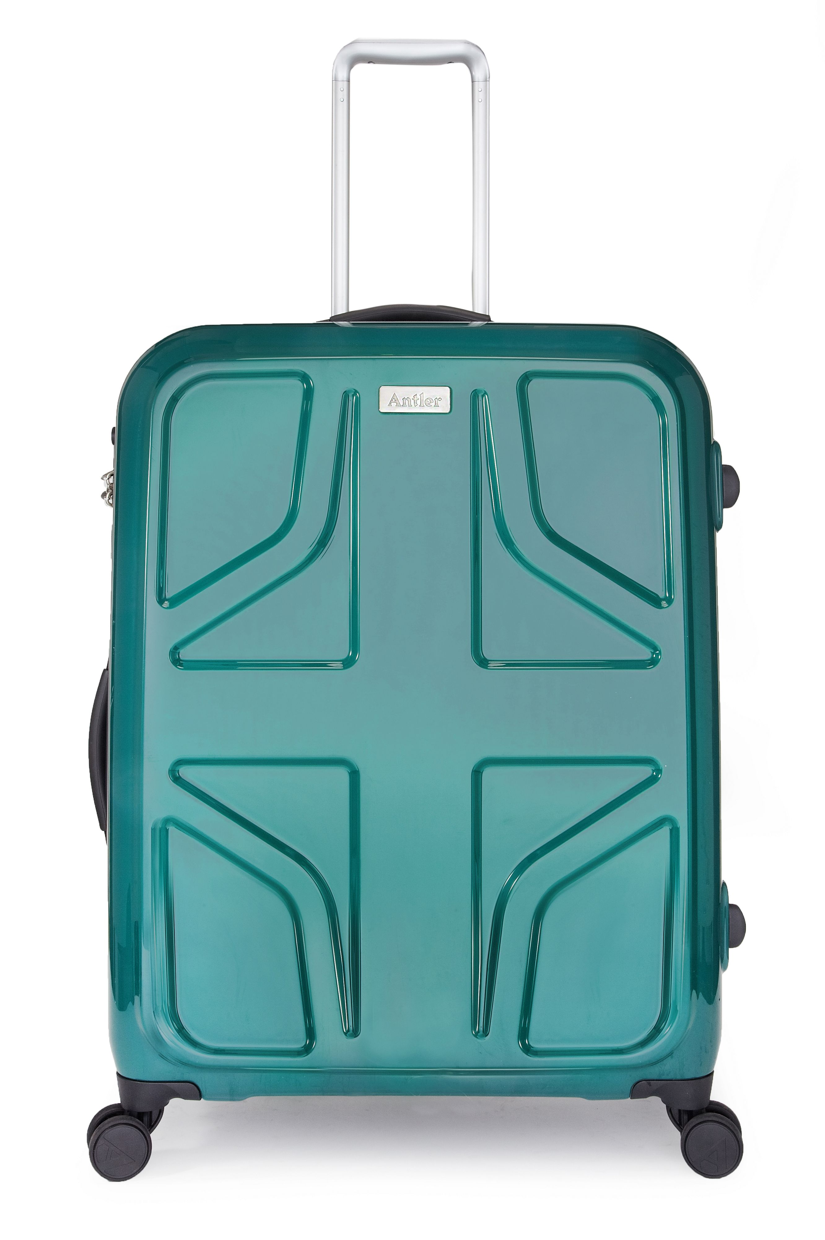 Sterling green luggage range