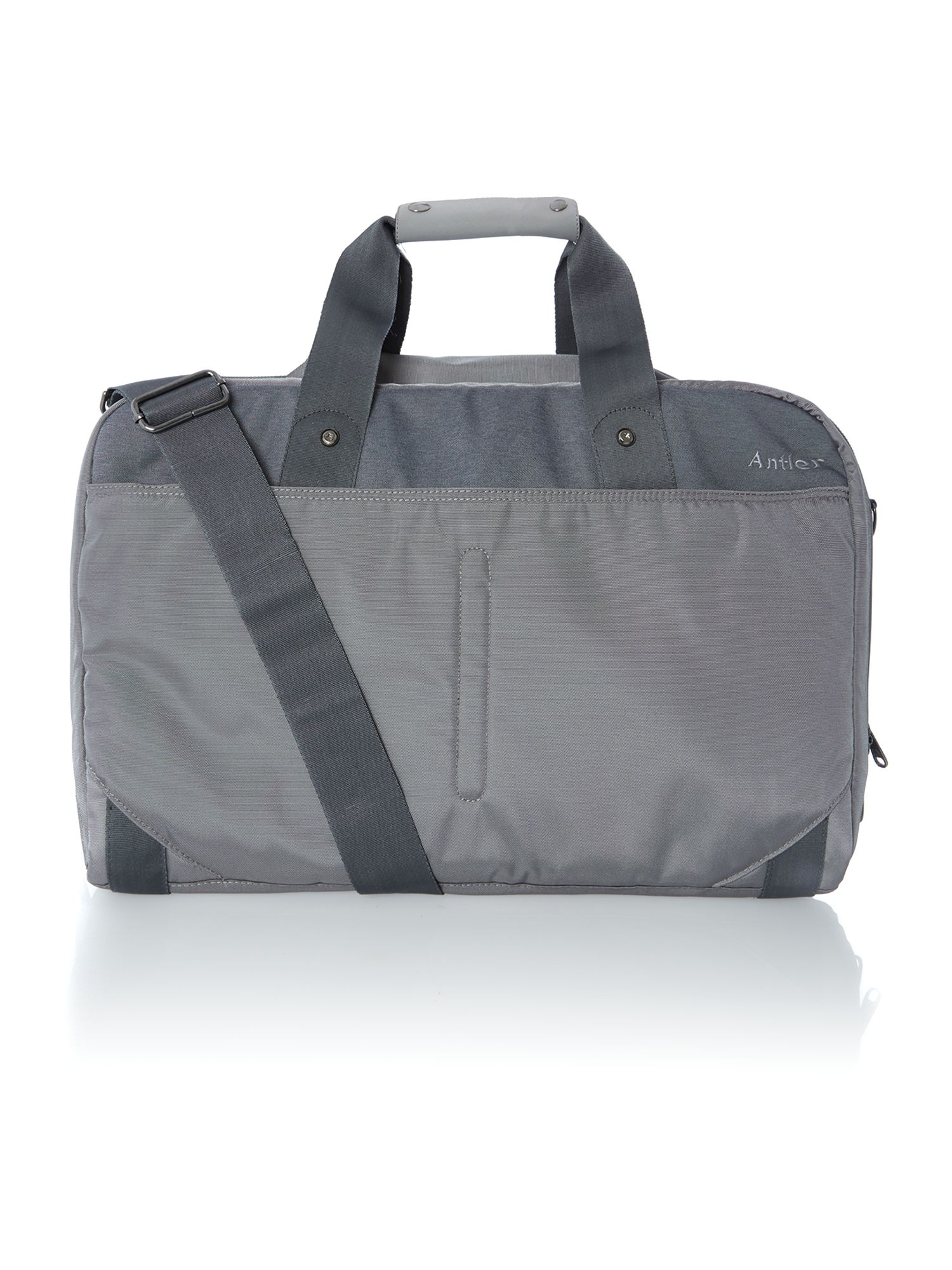 Nix light grey luggage range