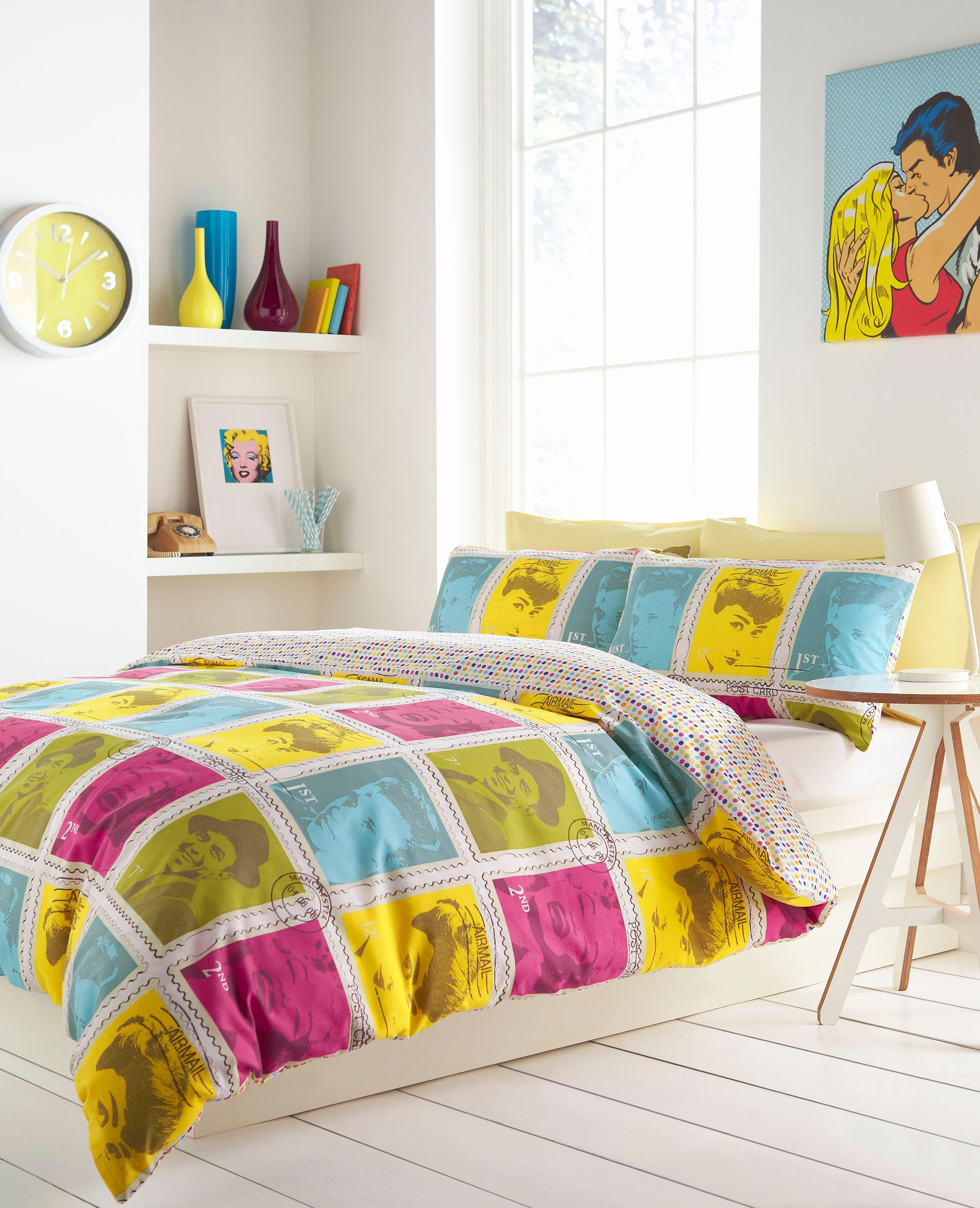 Wall of fame king duvet set