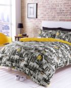 hashtagBedding Manhattan sky line bed linen