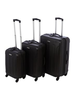 Linea Dakota black luggage range
