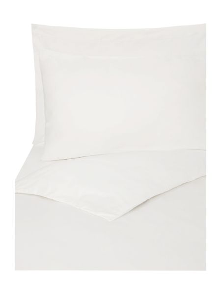 Linea Supima 300 thread count king fitted sheet ivory